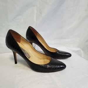 Authentic Jimmy Choo Snakeskin Heels